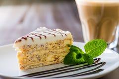 Kawałek tort Obrazy Royalty Free