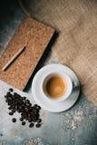 kawa espresso świeża Obraz Royalty Free