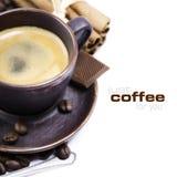 kawa espresso Obraz Royalty Free