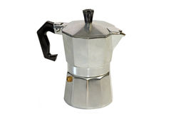 kawa espresso garnek Fotografia Stock
