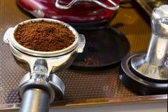 Kawa espresso przywódca grupy Fotografia Stock