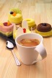 kawa espresso tortowa kawowa owoc Fotografia Royalty Free