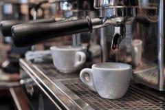 Kawa espresso w filiżance Fotografia Royalty Free