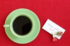 kawa gotowa wykorzystania tła Zdjęcia Royalty Free