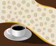 kawa gotowa wykorzystania tła Fotografia Royalty Free