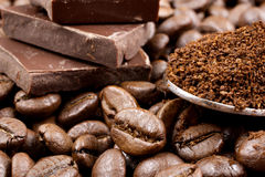 kawa gotowa wykorzystania tła Obrazy Royalty Free