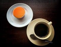 Kawa i babeczka Obrazy Stock
