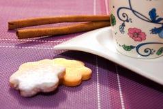 Kawa i ciastka Obraz Stock