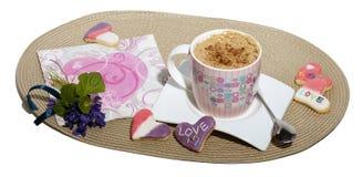 Kawa i ciastka Zdjęcie Royalty Free