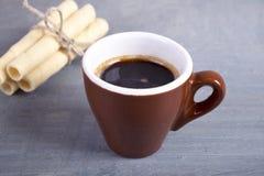 Kawa i ciastka Zdjęcie Stock