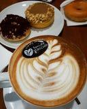 Kawa i Donuts Obrazy Stock