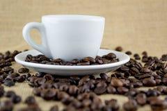Kawa i fasole Obrazy Stock