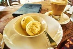 Kawa i lody w Constantia, Kapsztad Zdjęcia Stock