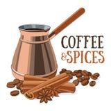 Kawa i Pikantność Zdjęcie Royalty Free