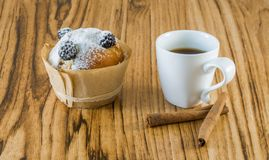 Kawa i tort Obrazy Stock