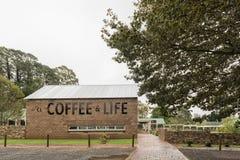 Kawa i życia centrum handlowe w Nottingham drodze Zdjęcie Royalty Free