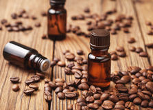 Kawa istotny olej fotografia stock
