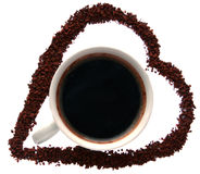 kawa ja lubię Zdjęcia Royalty Free