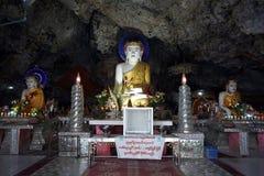 Kawa Ka Thawng jama Fotografia Stock