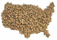 Kawa - Kawowy naród Zdjęcia Royalty Free