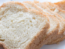 Kawałki domowej roboty chleb Fotografia Royalty Free