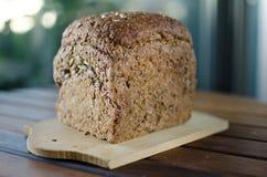 Kawałki domowej roboty wholemeal chleb Zdjęcie Stock