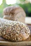 Kawałki domowej roboty wholemeal chleb Obrazy Royalty Free