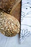 Kawałki domowej roboty wholemeal chleb Obraz Stock