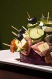 kawałki jedzenia Fotografia Stock