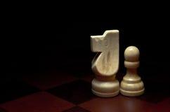 kawałki szachowi Obraz Royalty Free