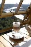 kawa latte Fotografia Royalty Free