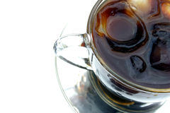 kawa lodu Zdjęcia Stock