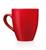 Kawa lub herbaciany kubek Obrazy Royalty Free