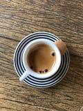 Kawa na stole Obraz Royalty Free