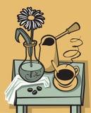 kawa nadal życia Obrazy Royalty Free
