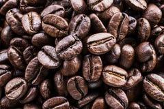 kawa piec fasoli Jedzenia i napoju tło Odgórny widok zdjęcie royalty free