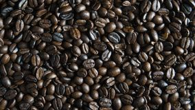 kawa piec fasoli tło obrazy stock