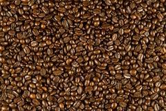 kawa piec fasoli tło Obraz Royalty Free
