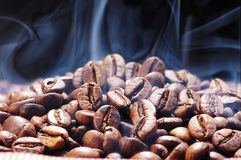 Kawa piec proces Zdjęcie Stock