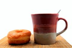 Kawa & piekarnia Obrazy Stock