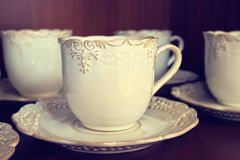 Kawa podnosi Fotografia Stock