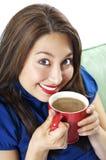 kawa rozochocona czyni mnie Zdjęcia Royalty Free