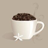 kawa silna Zdjęcia Royalty Free