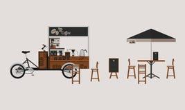 Kawa stojak Zdjęcia Stock