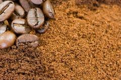 kawa tło Zdjęcie Stock