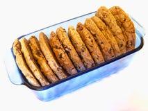 kawału czekoladowy ciastko Fotografia Stock