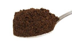 Kawa w łyżce Obraz Stock