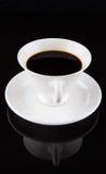Kawa W Białej filiżance II Zdjęcia Stock