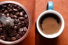Kawa w młynie Zdjęcia Royalty Free