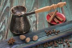 Kawa w turku z pikantność obraz royalty free